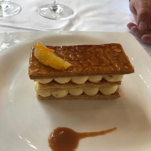 train e dessert